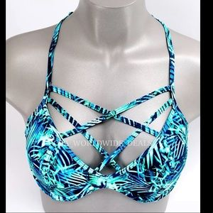 NWT Victoria's Secret Strappy Bikini Top